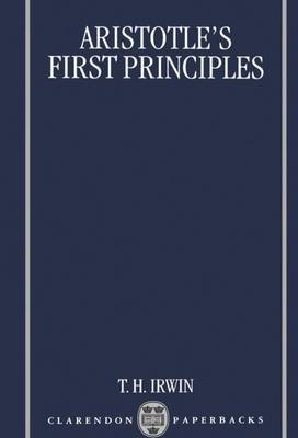 Aristotle's First Principles by Terence H. Irwin image