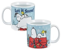 Peanuts: Holiday - Heat-Reactive Ceramic Mug