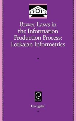 Power Laws in the Information Production Process image