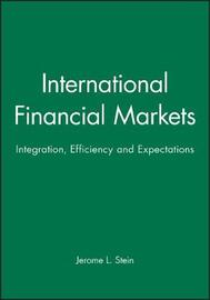 International Financial Markets by Jerome L Stein image