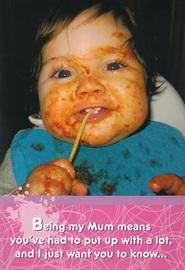 Hallmark: Interactive Birthday Card - Mum Nothin Yet