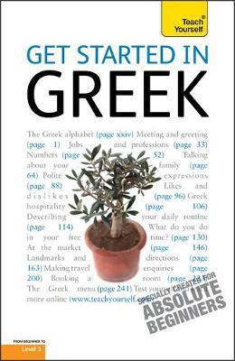 Get Started in Beginner's Greek: Teach Yourself by Aristarhos Matsukas image