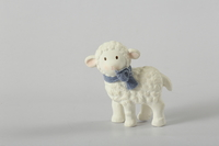 Tikiri: Bonikka Lucas Lamb - Rubber Toy (12cm)