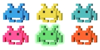 Space Invaders - Colourways 8-Bit Pop! Vinyl Figure (Assorted Chase)