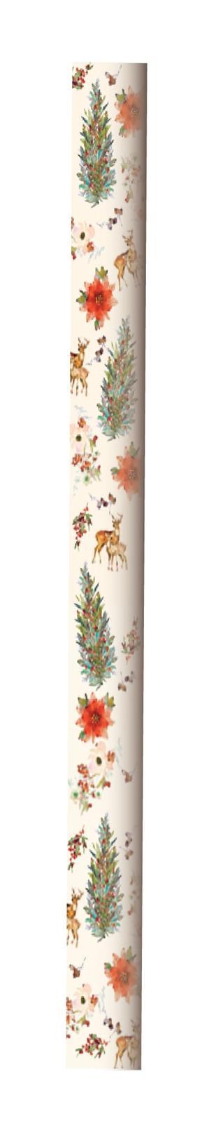 Hallmark: Christmas Wrap 5m Roll - Tree Wreath image