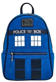 Loungefly: Doctor Who - Police Box Mini Backpack