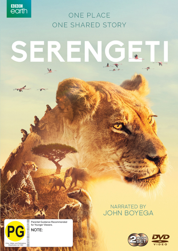 Serengeti on DVD