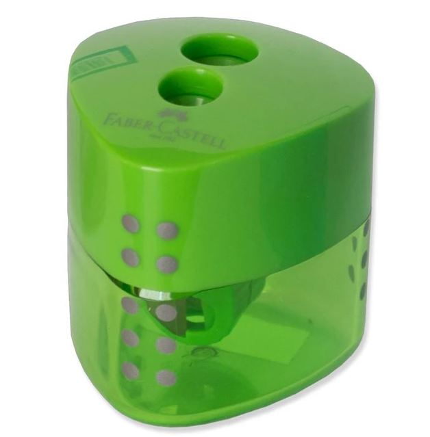 Faber-Castell: Grip Double Hole Sharpener - Green