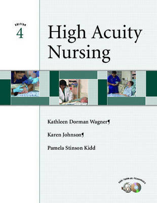 High Acuity Nursing by Pamela Stinson Kidd image