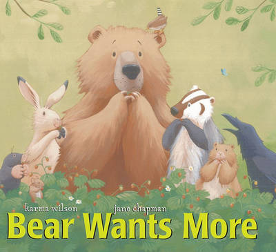 Bear Wants More by Chapman image