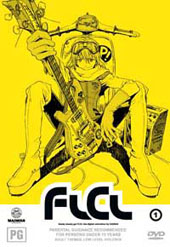 Flcl - Vol 1 on DVD