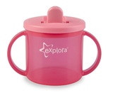 Closer to Nature Explorer First Cup (190ml) - Pink
