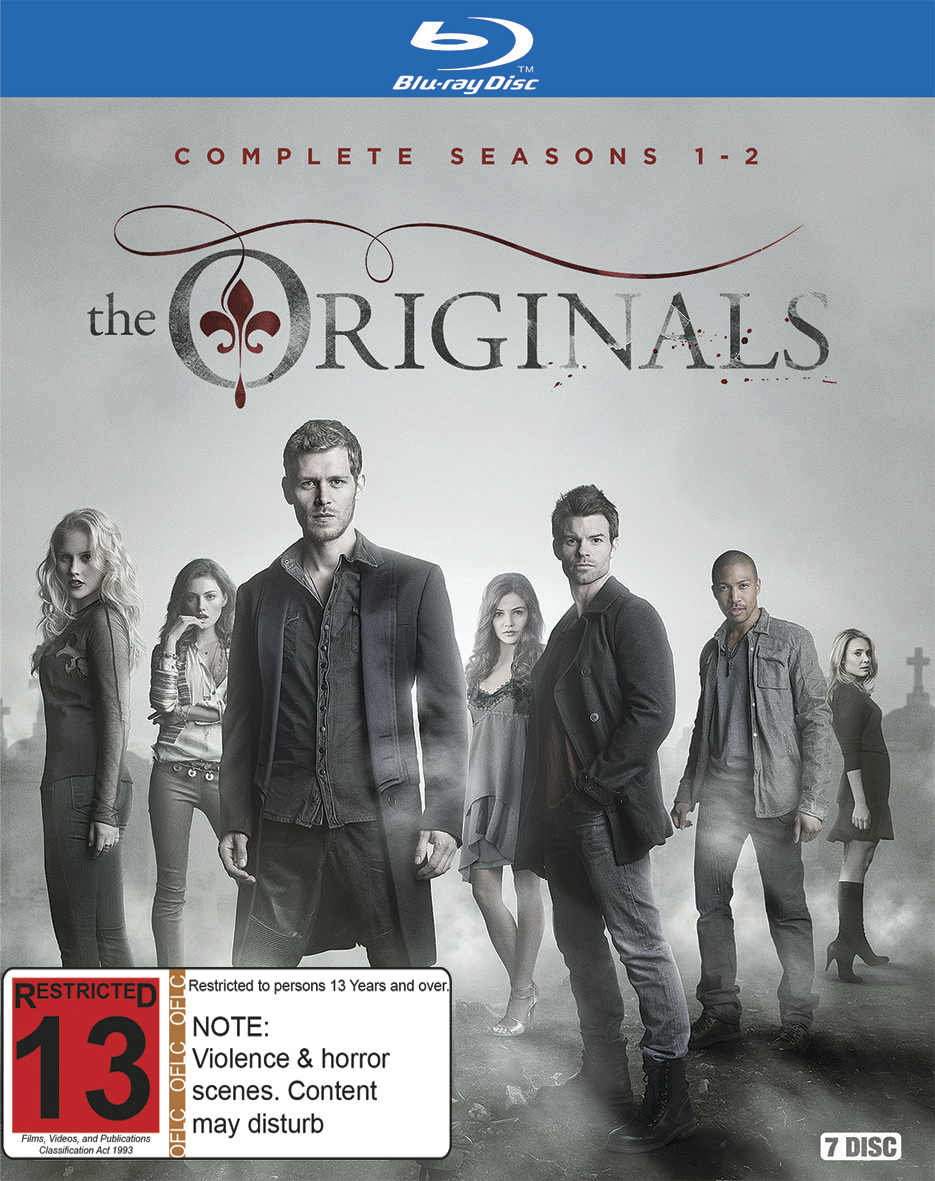 The Originals - The Complete First & Second Seasons on Blu-ray image