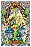 The Legend Of Zelda - Stained Glass Poster (418)