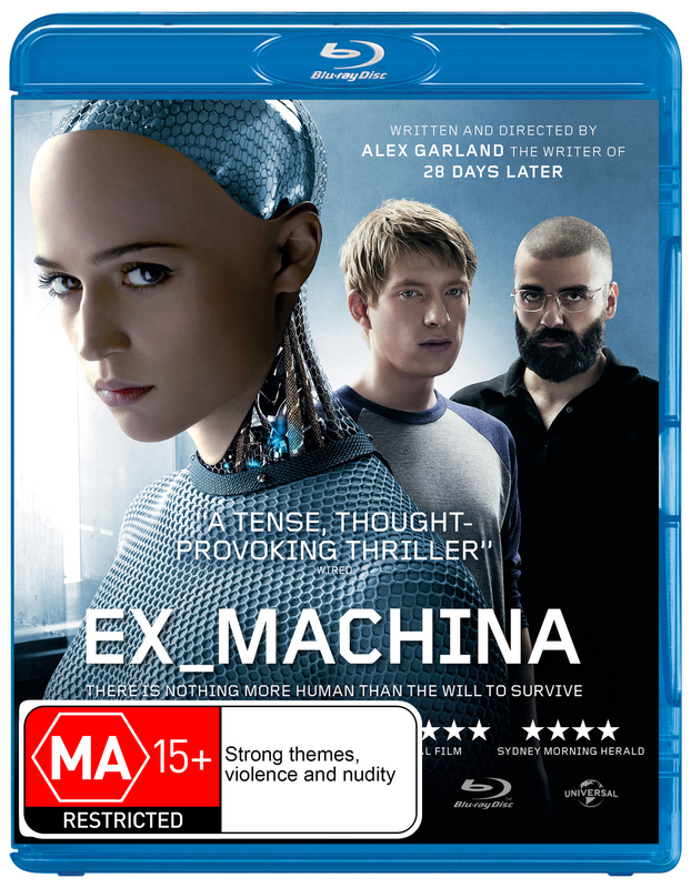 Ex Machina on Blu-ray