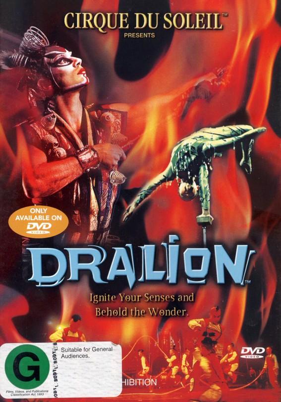 Cirque Du Soleil - Dralion on DVD image