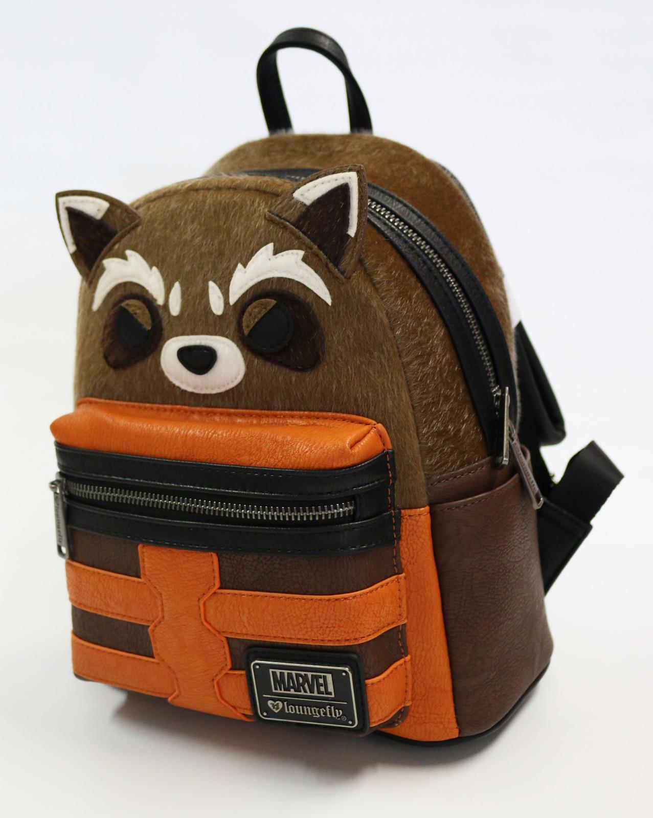 3080146558 ... Loungefly  Marvel Guardians Rocket - Mini Backpack image ...