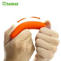 Haakaa: Silicone Baby Food Spoon - Orange image
