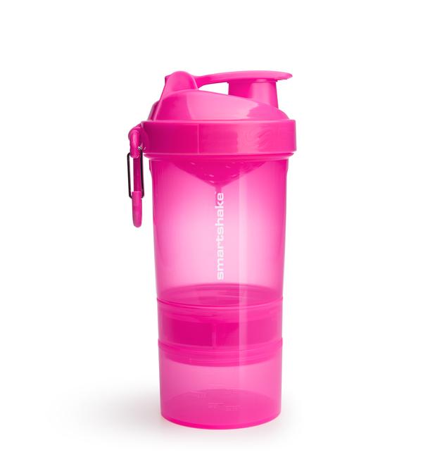 Smartshake Original 2Go Protein Shaker - Pink (600ml)
