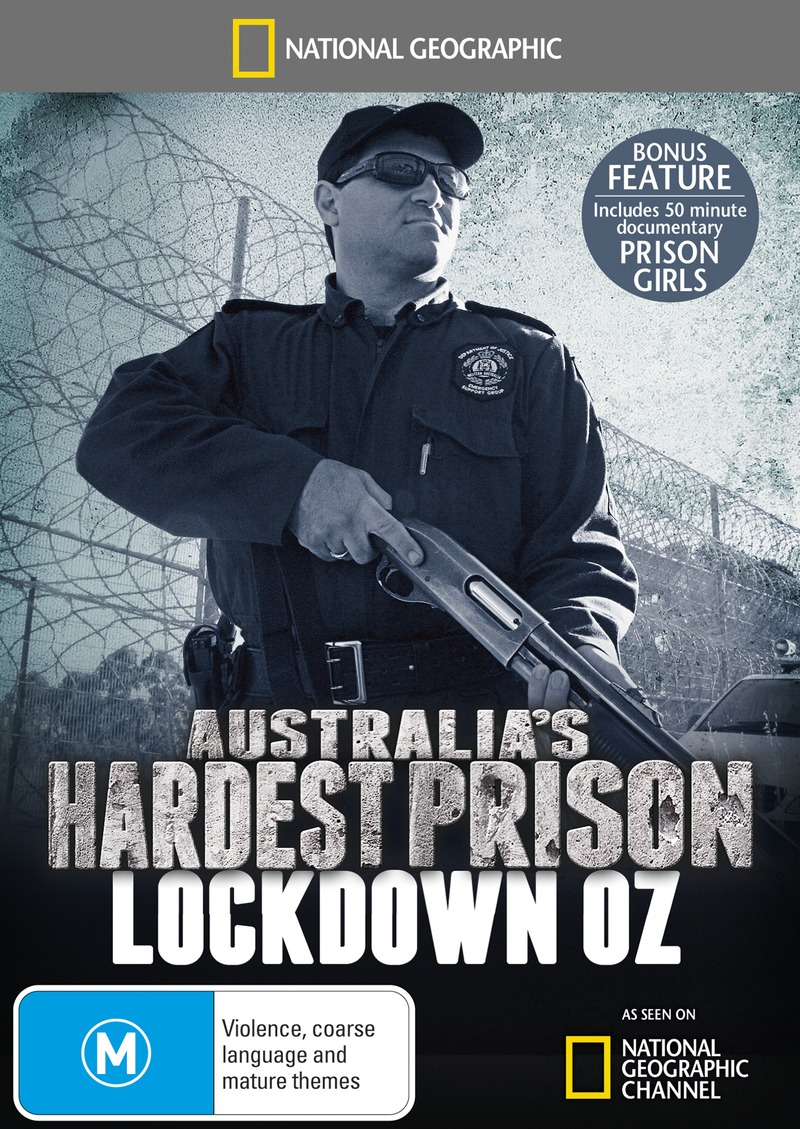 National Geographic: Australia's Hardest Prison - Lockdown Oz on DVD image