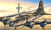 "Academy B-17F ""Memphis Belle"" 1/72 Model Kit"