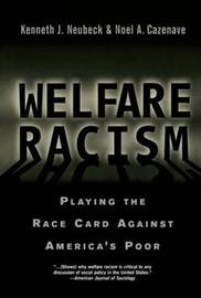 Welfare Racism by Kenneth J Neubeck image