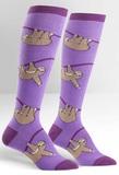 Womens - Sloth Knee High Socks