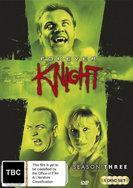 Forever Knight - Season 3 on DVD