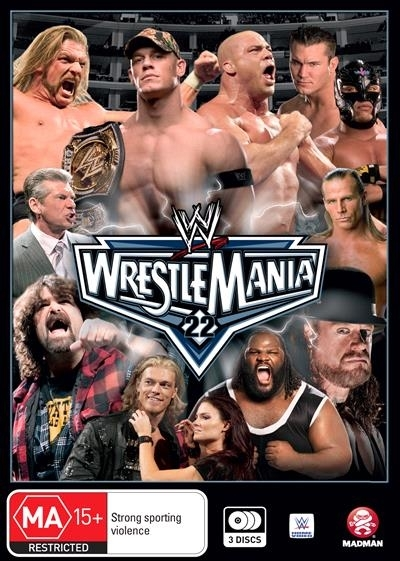 WWE: Wrestlemania 22 on DVD image