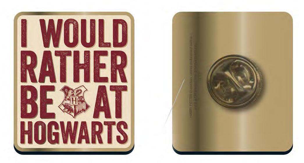 Harry Potter Rather be at Hogwarts Badge image