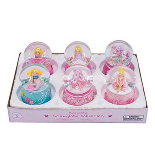 Pink Poppy: Girls Small Snow Globe (Assorted Designs)