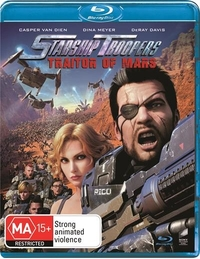 Starship Troopers: Traitor of Mars on Blu-ray
