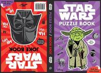 Joke Book/Puzzle Book by Star Wars