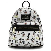 Loungefly: Disney - Mickey Print Mini Backpack