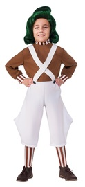 Willy Wonka: Oompa Loompa - Deluxe Costume (Small)