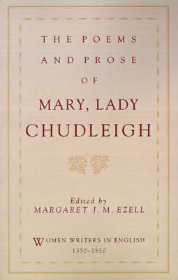 The Poems and Prose of Mary, Lady Chudleigh by Mary Chudleigh image