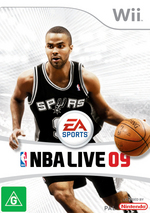 NBA Live 09 for Wii