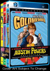 Austin Powers Triple Pack - Threesome on DVD