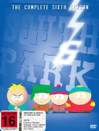 South Park - The Complete 6th Season (3 Disc Box Set) on DVD