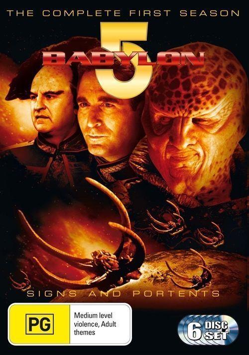 Babylon 5 - Season 1 (6 Disc Set) on DVD image