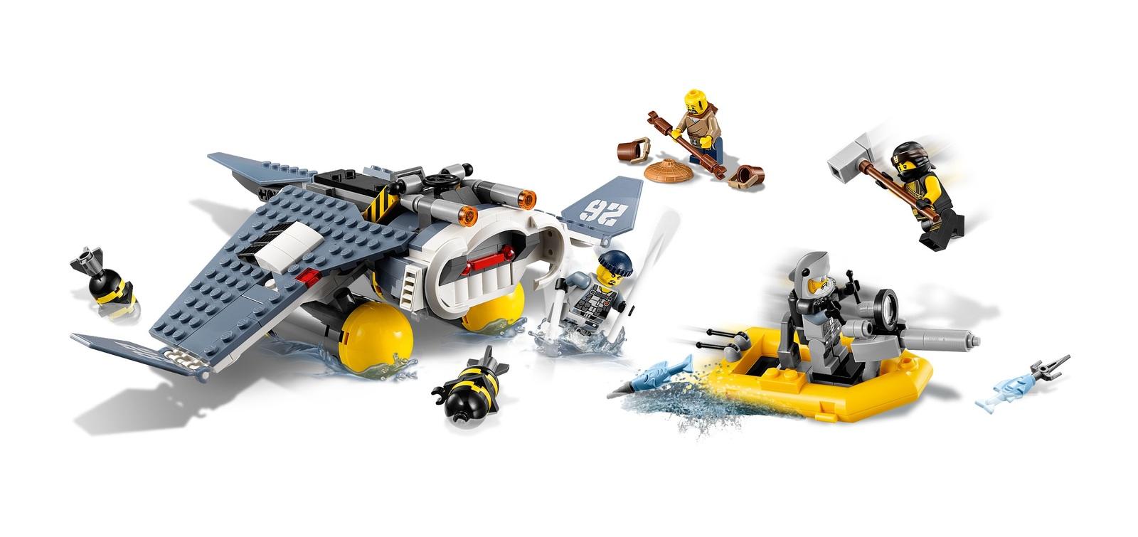 d4cb69ead LEGO Ninjago - Manta Ray Bomber (70609) | Toy | at Mighty Ape Australia
