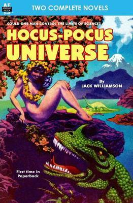 Hocus-Pocus Universe & Queen of the Panther World by Jack Williamson image