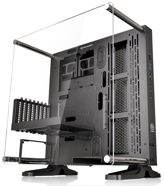 Thermaltake: Core P3 ATX Wall-Mount Chassis