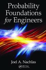 Probability Foundations for Engineers by Joel A. Nachlas image