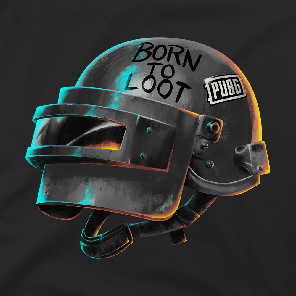 PUBG Born To Loot Premium Tee (Small) image