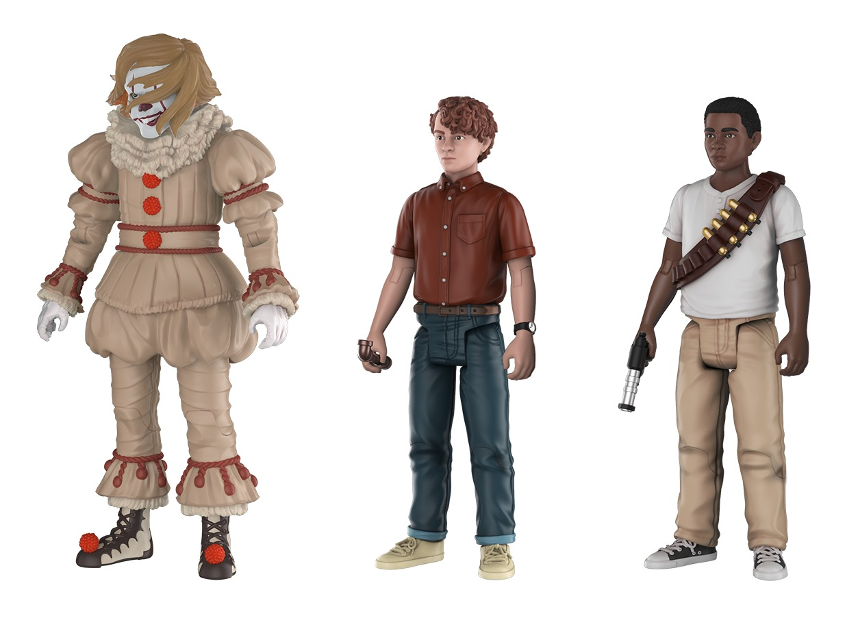 It (2017): Action Figure 3-Pack image