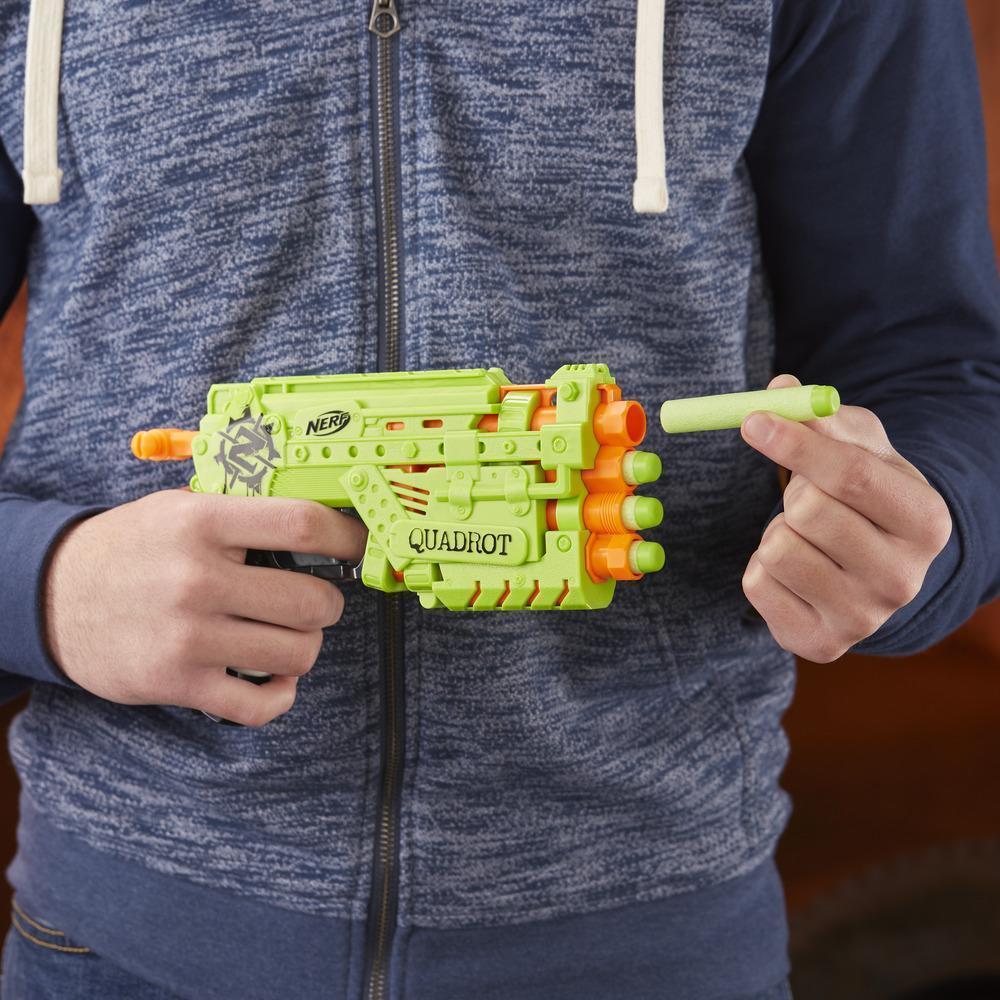 Nerf: Zombiestrike - Quadrot Blaster image