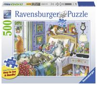 Ravensburger: 500 Piece Puzzle - Cat Nap