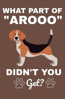 """What Part Of """"Arooo"""" Didn't You Get? by Karen Prints image"""