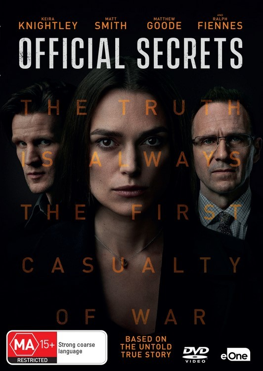 Official Secrets on DVD